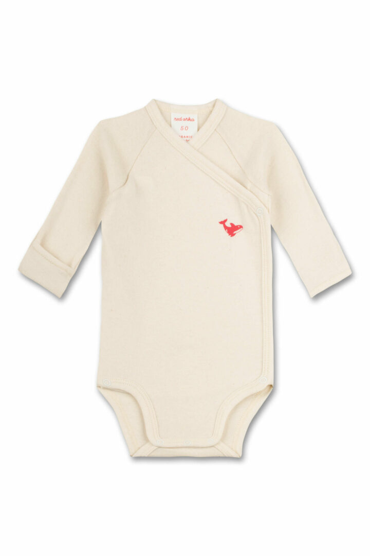 off white long sleeve rompers
