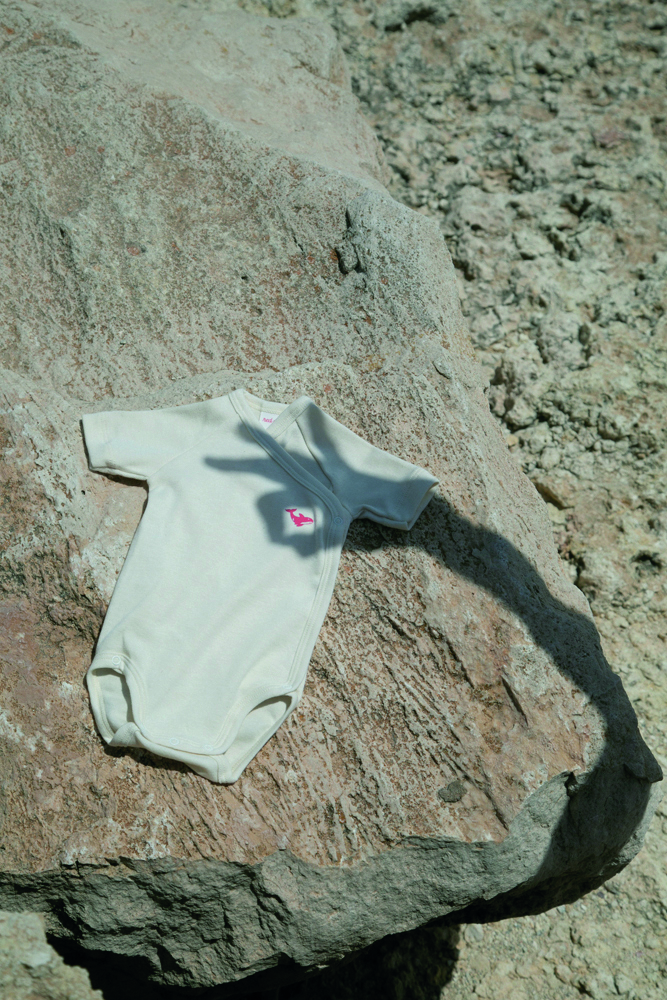 red orka sustainable rompers