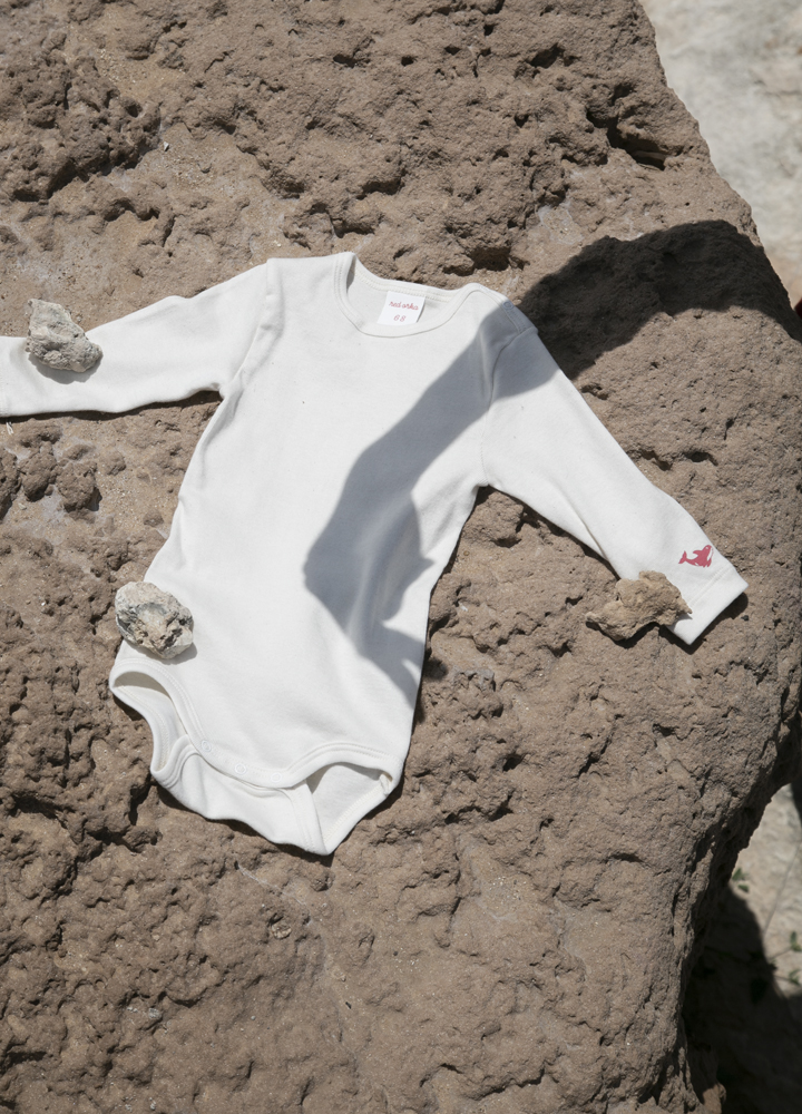 sustainable rompers cotton